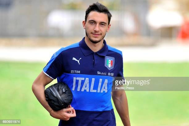 Italy's player Matteo Darmian during the training session at the Coverciano Training Center The Italian national team will face in a friendly match...