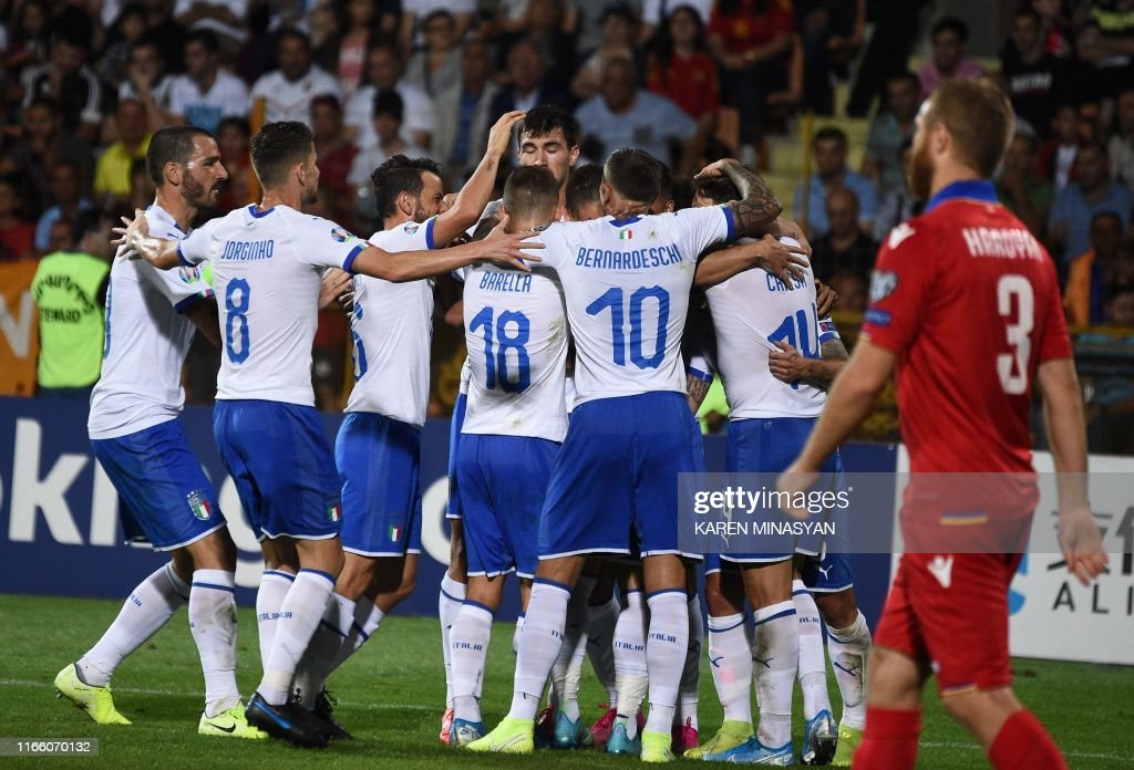 FBL-EURO-2020-QUALIFIER-ARMENIA-ITALY : News Photo