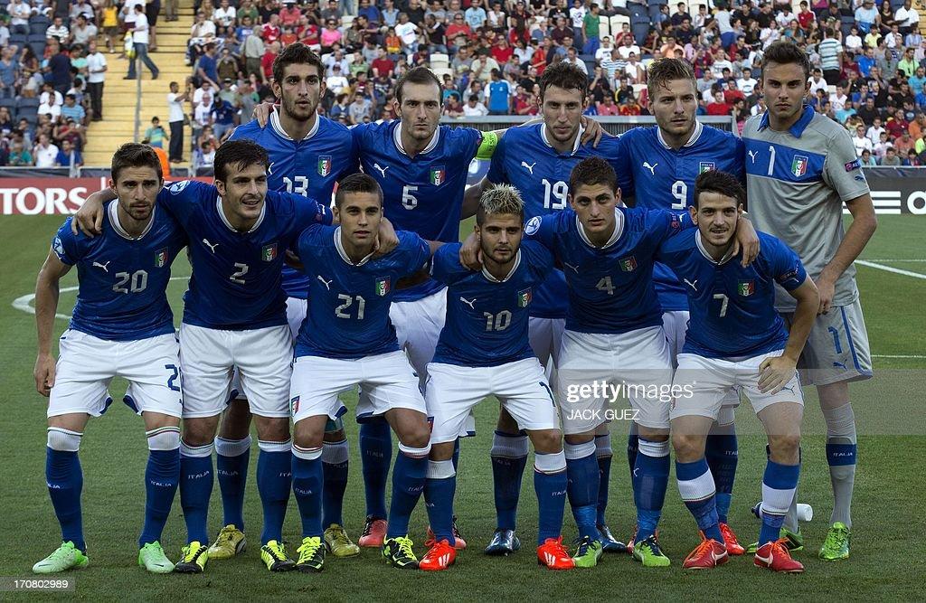 FBL-EURO-2013-U21-ESP-ITA : Foto di attualità