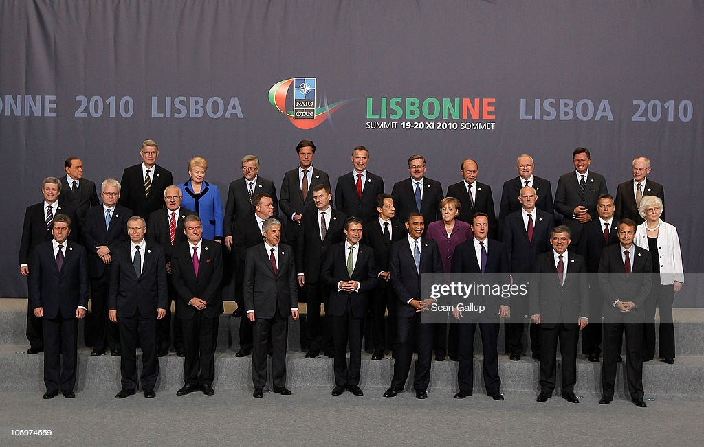 NATO Summit Lisbon 2010 - Day 1 : News Photo