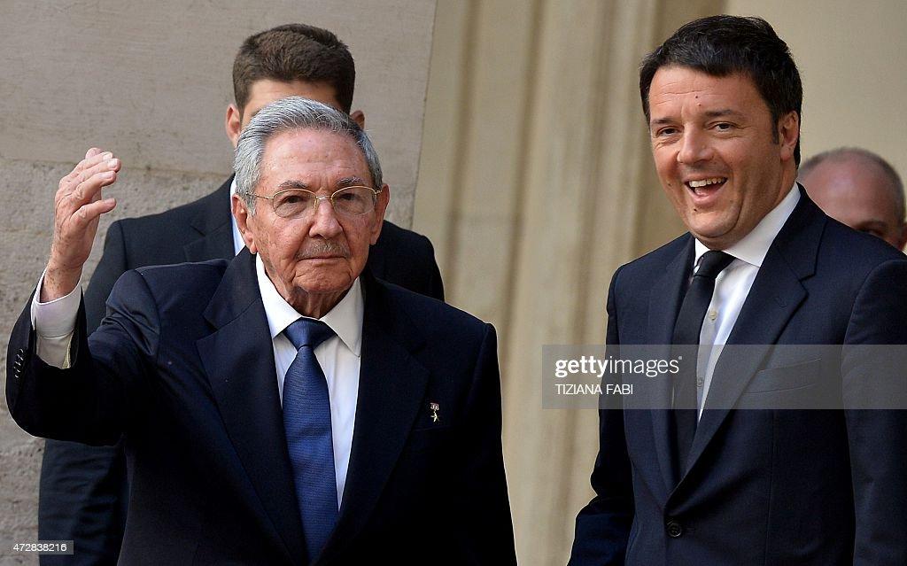 ITALY-CUBA-DIPLOMACY : News Photo