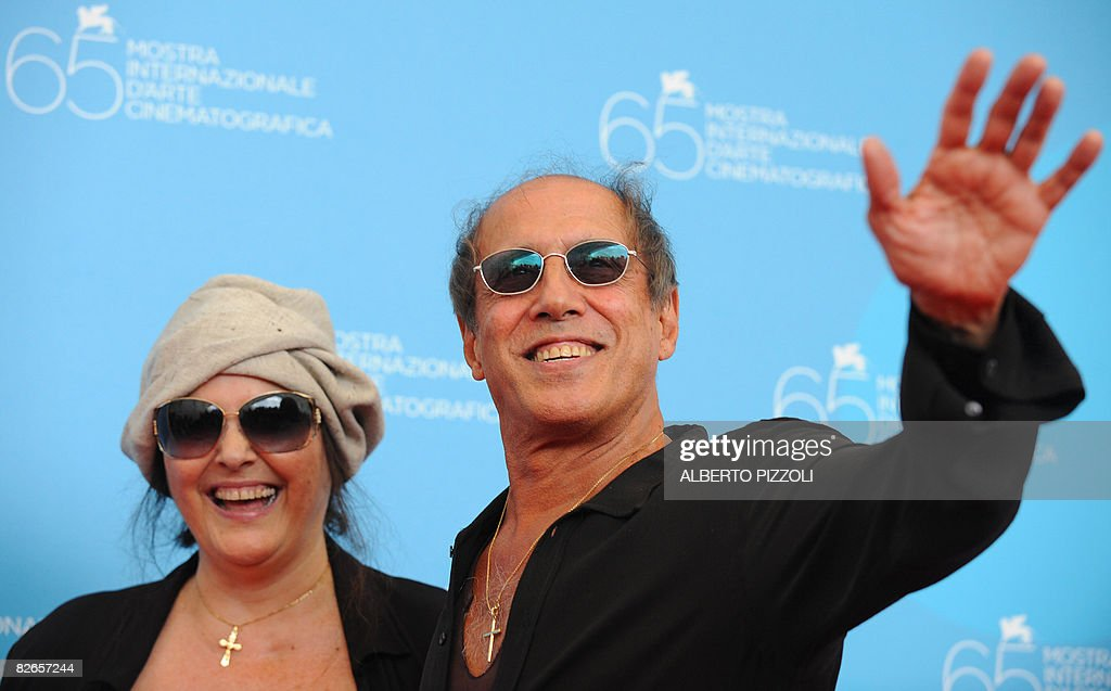 Italy's singer and director Adriano Cele : News Photo