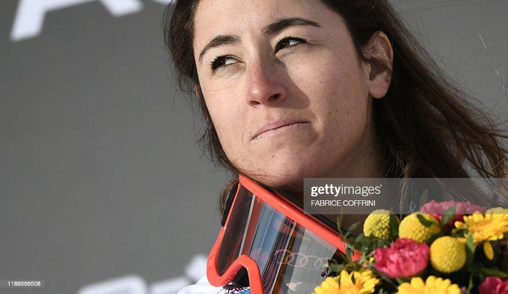 ALPINE-SKI-WOMEN : News Photo