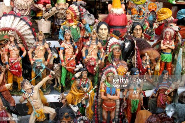 items for sale in the sonora market in mexico city. - planchas_de_plata,_sonora stock pictures, royalty-free photos & images