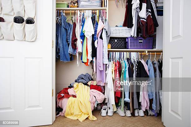 Items Inside of Closet