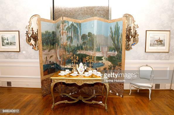 Items on display at Zsa Zsa Gabors estate auction preview