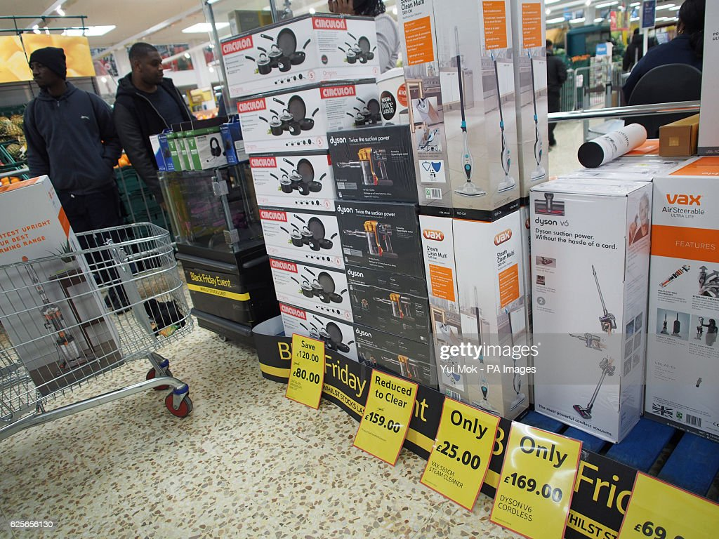 Items On Sale On Black Friday At A Tesco Extra Store In Ponders End News Photo Getty Images