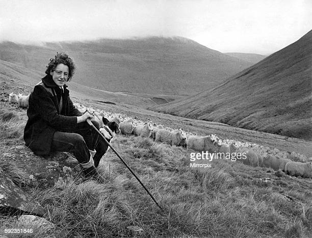 Ith only the mountains and the mist around her, 29 year old Agnes Wilson from Bodesbeck, near Selkirk, goes about her daily job. For Agnes is one of...