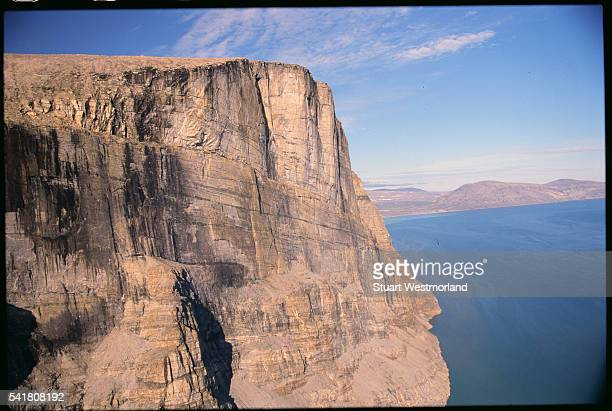 itirbilung fjord - baffin island stock pictures, royalty-free photos & images