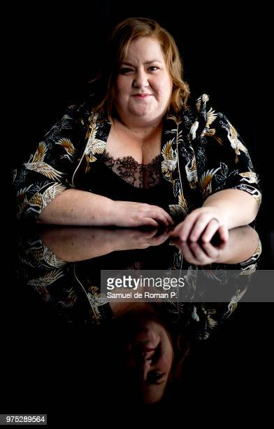 Itiziar Castro during a portrait session at 'Melia Princesa hotel' on June 12 2018 in Madrid Spain