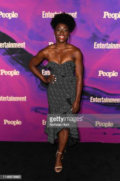 Ester Dean attends the People Entertainment Weekly 2019 Upfronts at Union Park on May 13 2019 in New York City