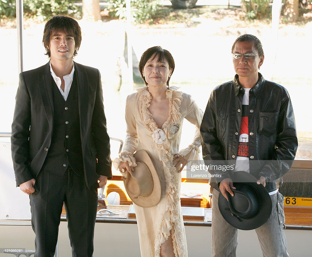 64th Venice Film Festival : Sukiyaki Westerm Django - Photocall : Nieuwsfoto's