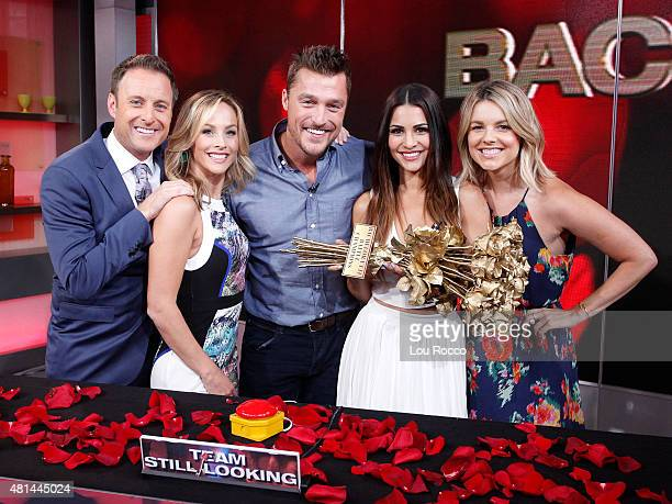 AMERICA Its a Bachelor reunion on Good Morning America 7/20/15 airing on the Walt Disney Television via Getty Images Television Network