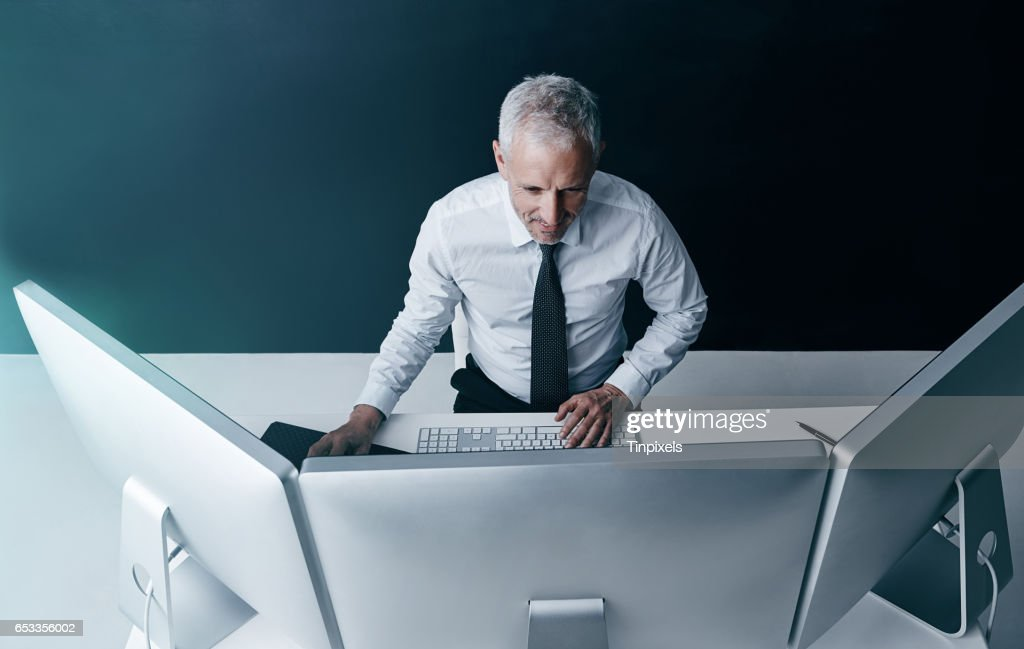 It's a brave new world for business : Stock Photo
