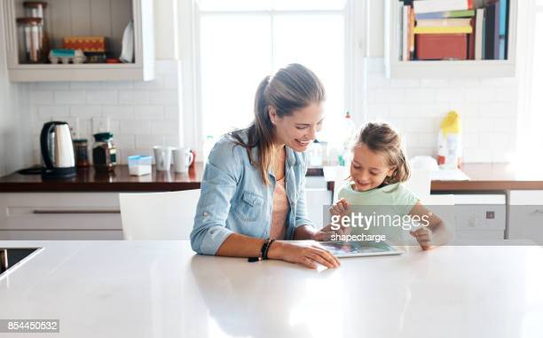it's a connected world and we're all living in it - kitchen counter stock photos and pictures