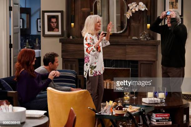WILL GRACE 'It's A Family Affair' Episode 116 Pictured Debra Messing as Grace Adler Eric McCormack as Will Truman Blythe Danner as Marilyn Truman...