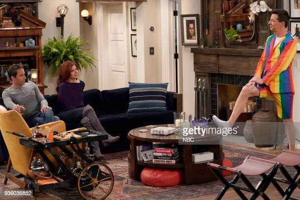WILL GRACE 'It's A Family Affair' Episode 116 Pictured Eric McCormack as Will Truman Debra Messing as Grace Adler Sean Hayes as Jack McFarland
