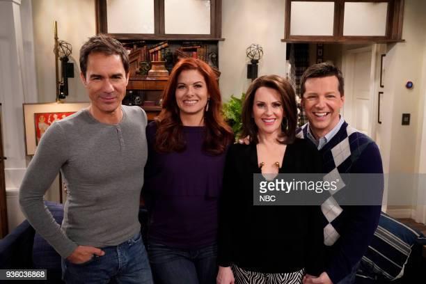 WILL GRACE 'It's A Family Affair' Episode 116 Pictured Eric McCormack as Will Truman Debra Messing as Grace Adler Megan Mullally as Karen Walker Sean...