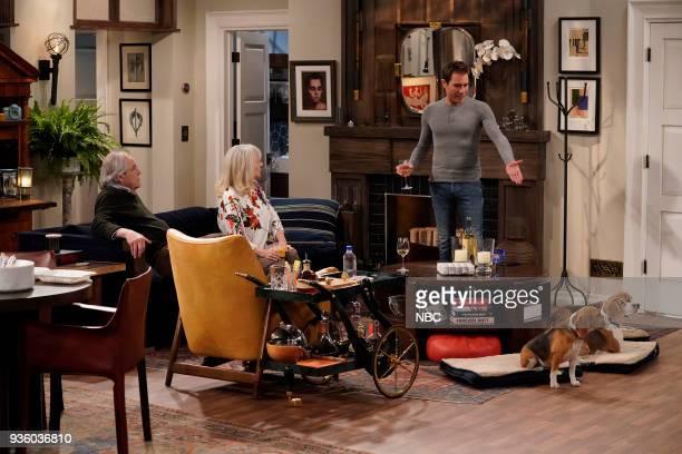 WILL GRACE 'It's A Family Affair' Episode 116 Pictured Robert Klien as Martin Adler Blythe Danner as Marilyn Truman Eric McCormack as Will Truman