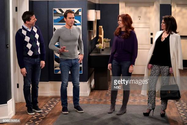 WILL GRACE 'It's A Family Affair' Episode 116 Pictured Sean Hayes as Jack McFarland Eric McCormack as Will Truman Debra Messing as Grace Adler Megan...