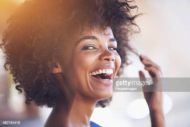 it's a feel good kinda day - black people laughing stock photos and pictures