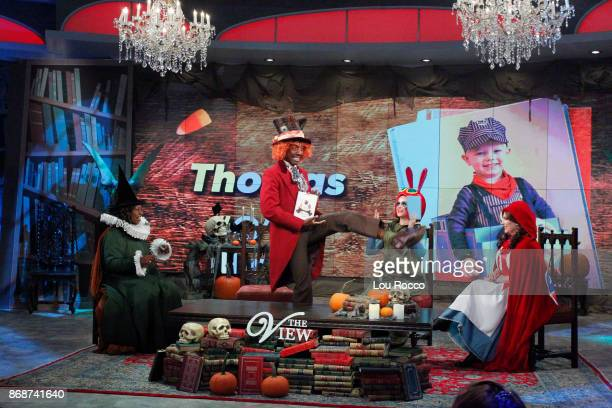 THE VIEW It's a Halloween for the books on ABC's 'The View' with guests JB Smoove and Yvette Nicole Brown Tuesday October 31 2017 'The View' airs...