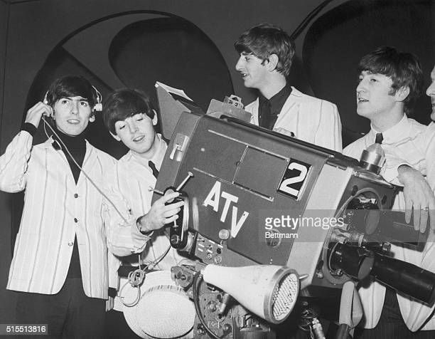 It's a mad fad DadThese four longhaired lads from Liverpool are The Beatles the current sensation among the teenagers of Britain The Nativeson rock...