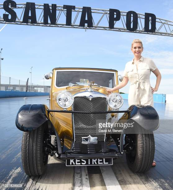 It's a record breaking Riley TV presenter and star mathematician Rachel Riley unveiled a very special car The Riley Kestrel a sensational...