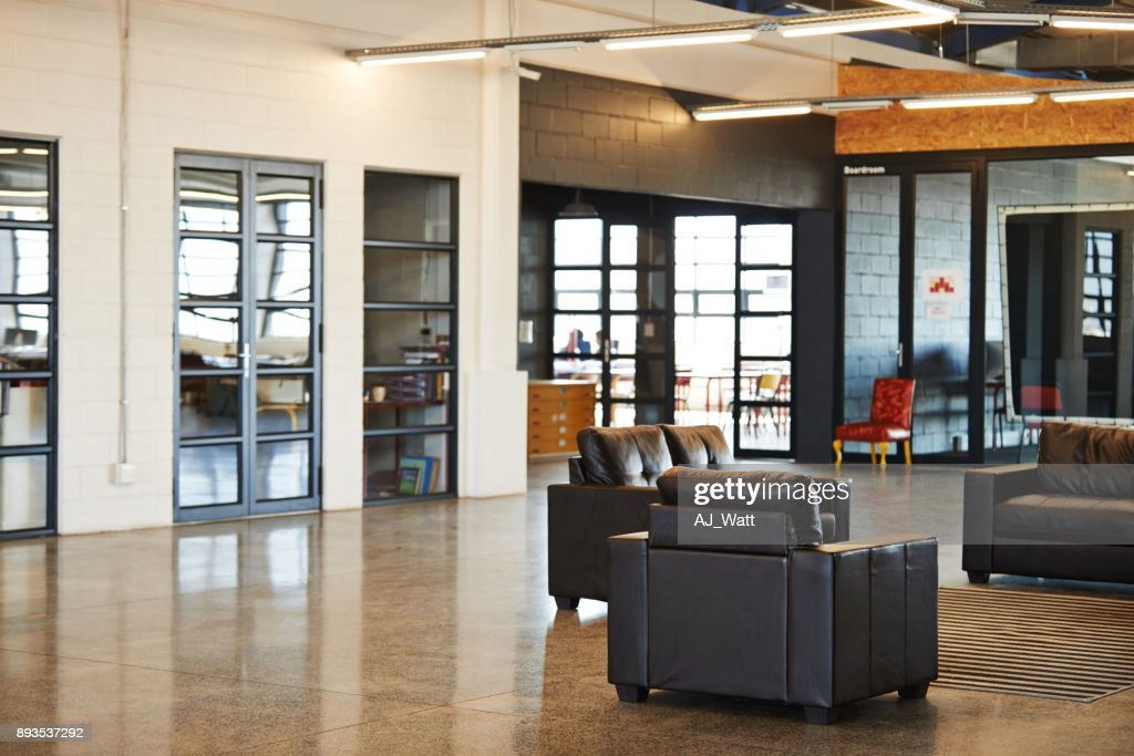 It's a relaxing office space : Stock Photo