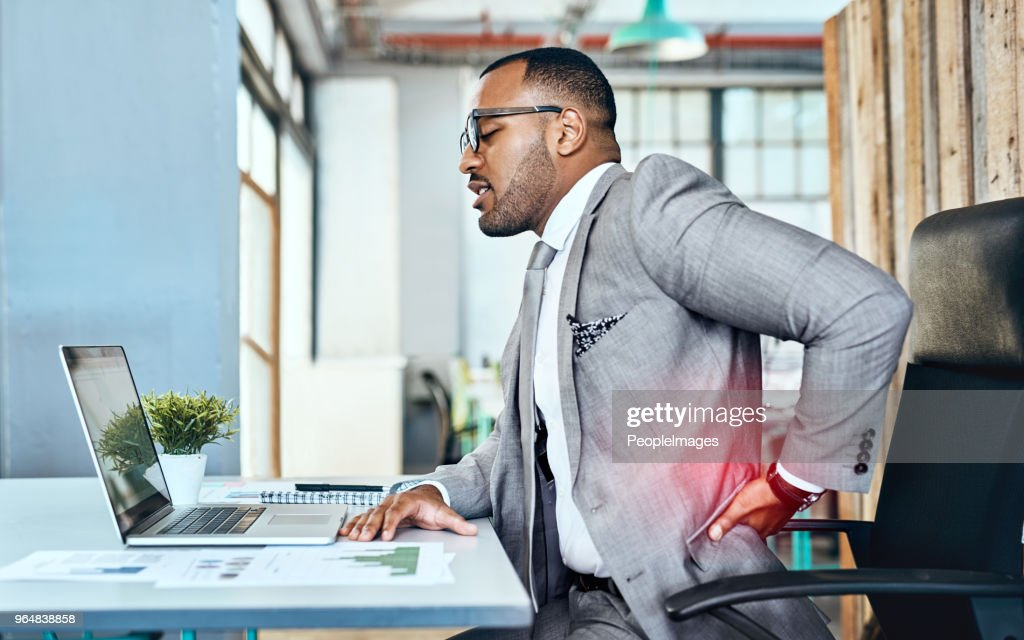 It's a sign of too much stress with little rest : Stock Photo