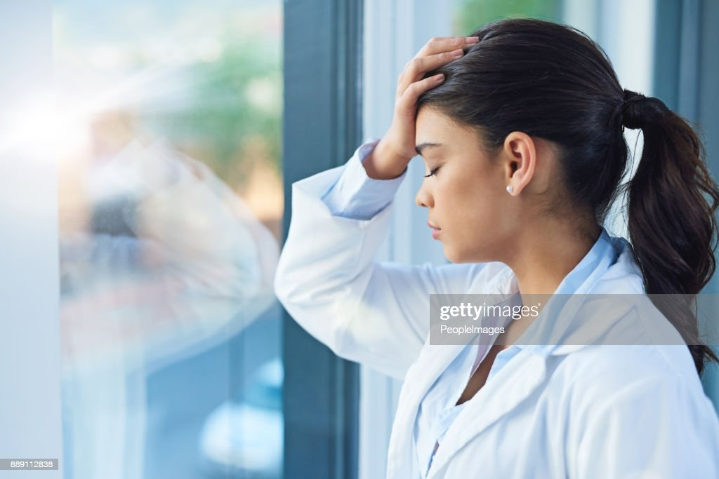 It's a stressful profession : Stock Photo
