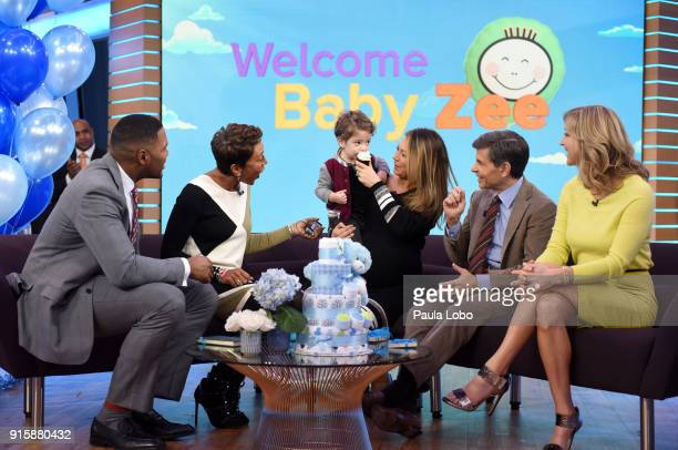 AMERICA It's a surprise baby shower for Ginger Zee on 'Good Morning America' Thursday February 8 airing on the ABC Television Network MICHAEL