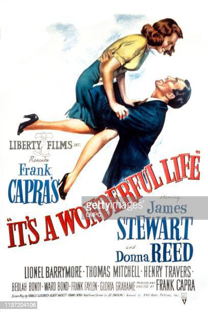 It's A Wonderful Life poster Donna Reed James Stewart 1946