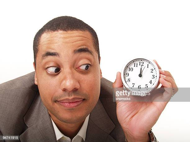 it's about time! - father time stock photos and pictures