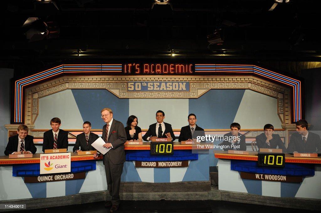 WASHINGTON, D  C , MAY 14, 2011  'It's Academic' host Mac McGarry