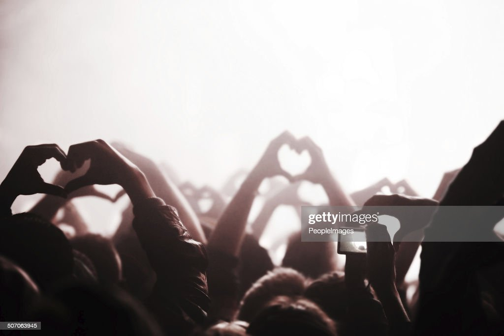 It's all about the love : Stock Photo