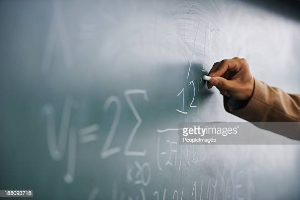 it's all in the formula... - chalkboard stock photos and pictures