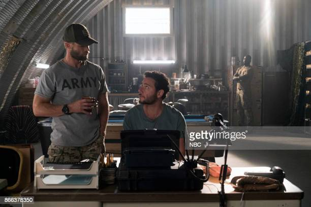 THE BRAVE 'It's All Personal' Episode 107 Pictured Mike Vogel as Captain Adam Dalton Hadi Tabbal as Agent Amir AlRaisani