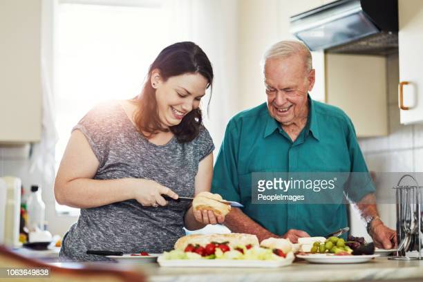 it's an honor to care for aging parents - janitor stock photos and pictures