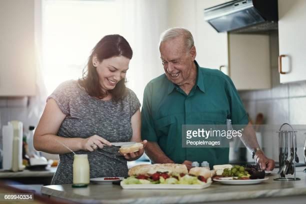 Es ist eine Ehre für die alternden Eltern zu sorgen