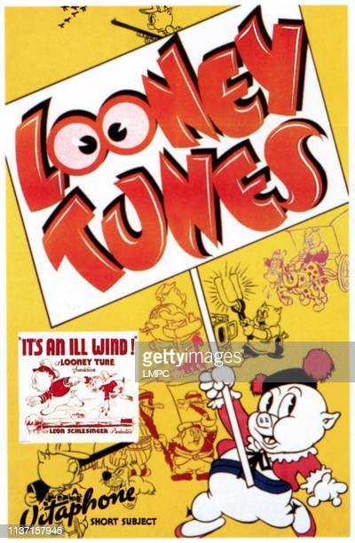 It's An Ill Wind poster Porky Pig 1939