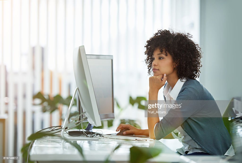 It's been a long day in the office : Stock Photo