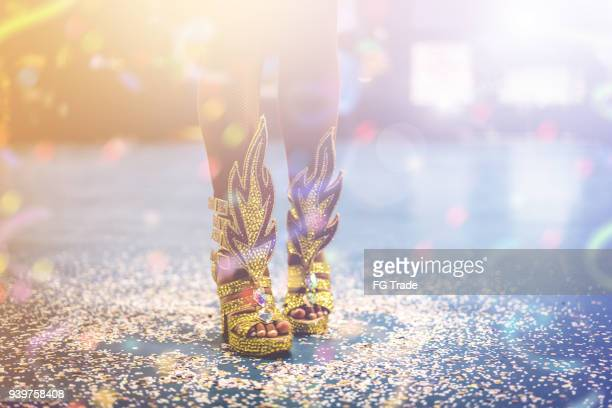 it's carnival party! - mardi gras party stock photos and pictures