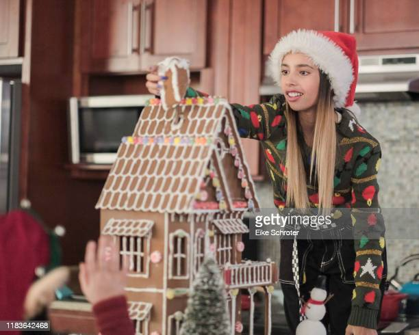 UNSITTABLES It's Christmas Gabby Duran Gabby and Olivia are excited to see their father for the holidays but when a snowstorm ruins those plans Gabby...