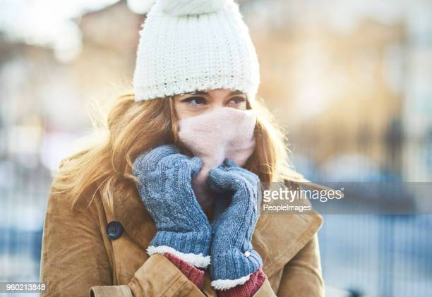 it's cold out here, i have to cover up - winter weather stock photos and pictures
