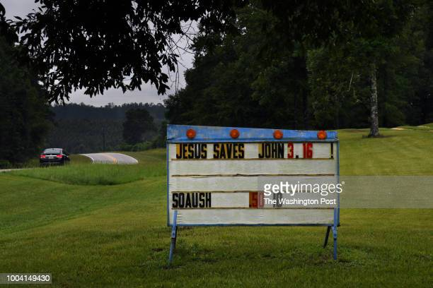 - It's common to see signs with a religion theme on the back roads near Luverne, Alabama. -Support for President Trump is rising among white...