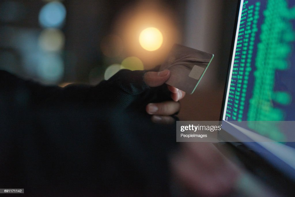 It's easier than you think for thieves to attack : Stock Photo