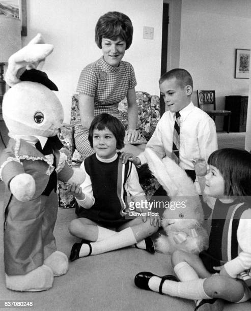 It's Easter and after church and Sunday school children will spend the day discovering presents delivered by that mythical bunny Mrs Henry C Van...