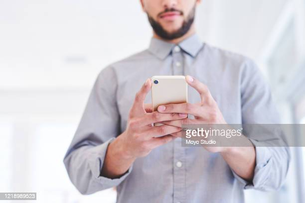it's essential to stay connected - one man only stock pictures, royalty-free photos & images