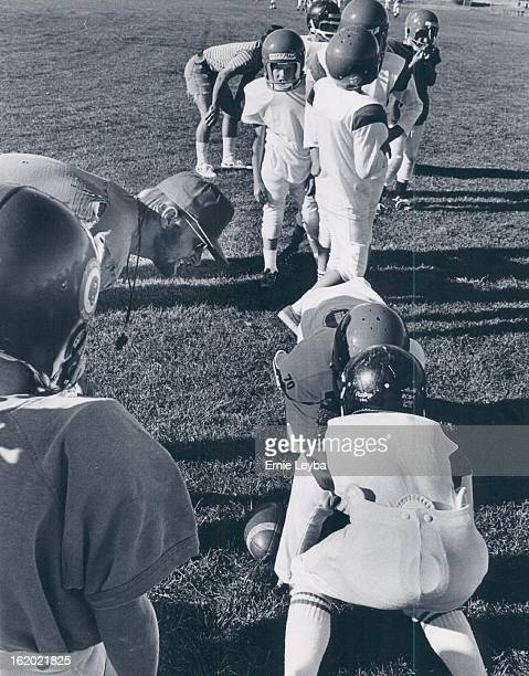 SEP 12 1971 SEP 17 1971 SEP 22 1971 It's familiar scene as young America football players practice Football * Young America League